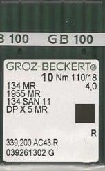 Groz Beckert 134x5 size MR4.0