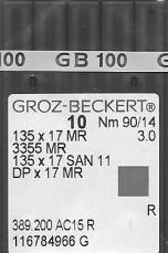 Groz Beckert San6 90/14 needles