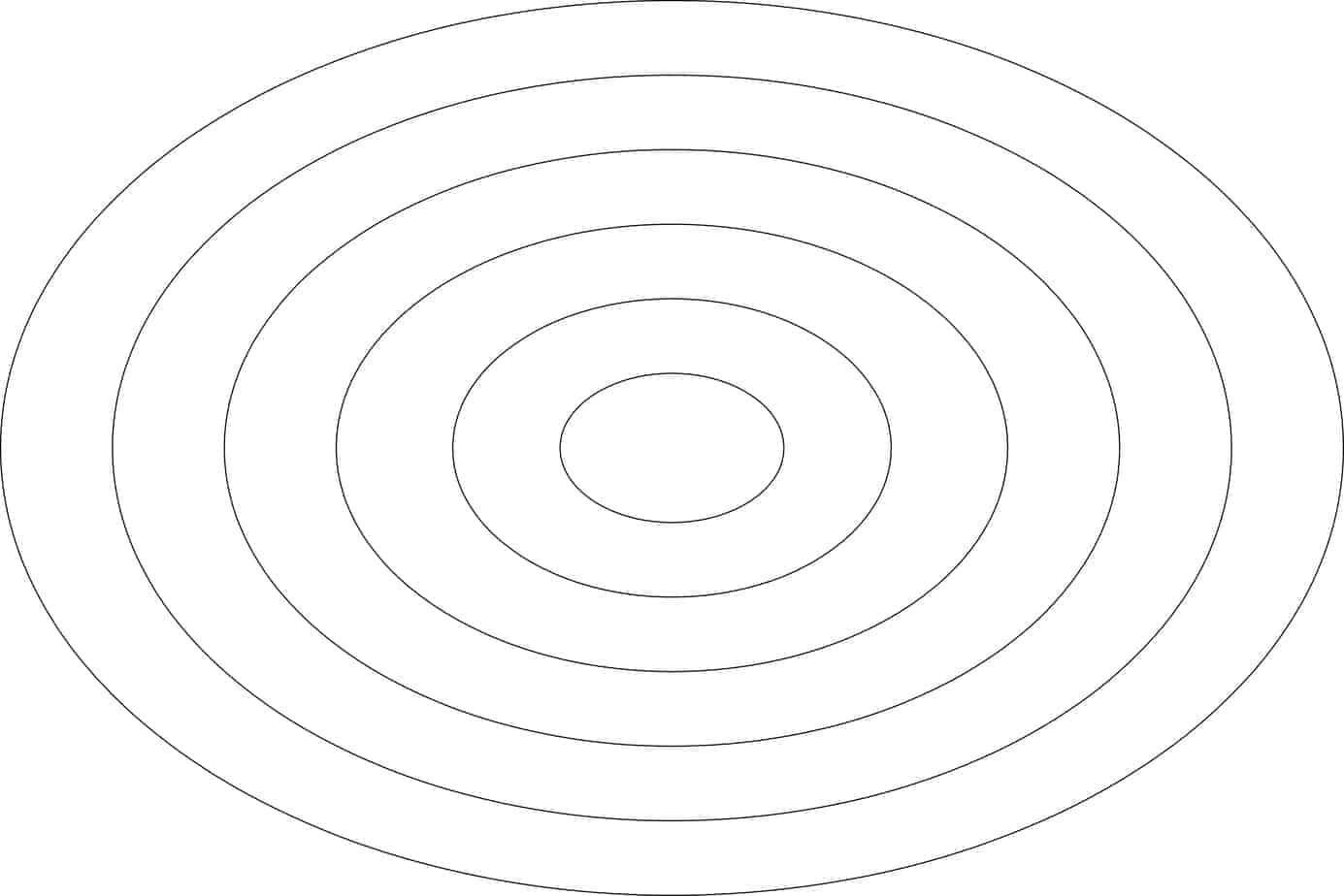 Nested Ovals 12?x8? set : DESIGN templates Constantine Quilts
