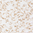 Cream Scroll