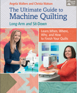 Ultimateguidetomachinequilting-Angela Walters