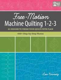 Freemotion quilting 1-2-3
