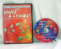 Free Motion Fun with Vines & Leaves! Vol 1