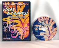 Free Motion Fun with Vines & Leaves! Vol 2