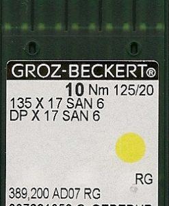 Groz Beckert San6 125/20 needles