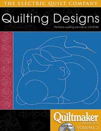 Quiltmaker Quilting Designs Cd : Quiltmaker Collection Vol 2 Constantine Quilts